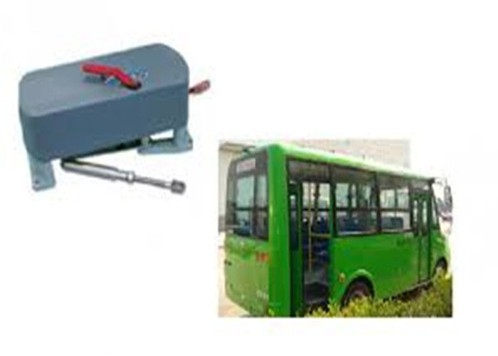 12V / 24V Electric Bifolding Automatic Bus Door System For Isuzu Journey