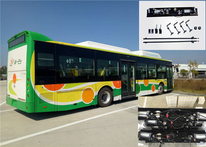 Single / Double Panel Pneumatic Bus Door Mechanism Speed Adjustable For Yutong City Bus